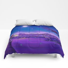 The Unexpected Visitor Comforters