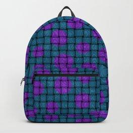 BASKET WEAVE PATTERN 1 Backpack