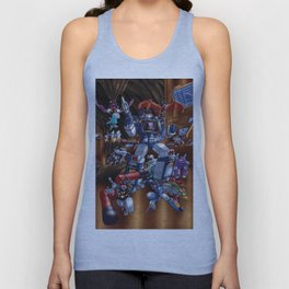 Cries and screams are music to my ears Unisex Tank Top