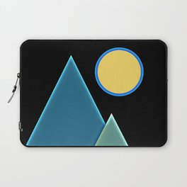 Sun, wind and mountains  Laptop Sleeve