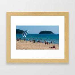 Karon Beach, Phuket, Thailand Framed Art Print