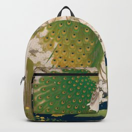 Peacocks and Cherry Tree Backpack