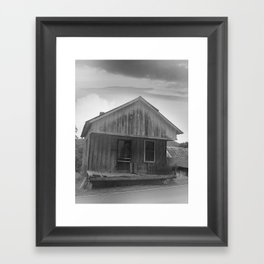 The Good Old Shack Framed Art Print