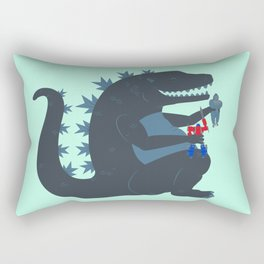 Let's be best friends forever! - Godzilla Rectangular Pillow