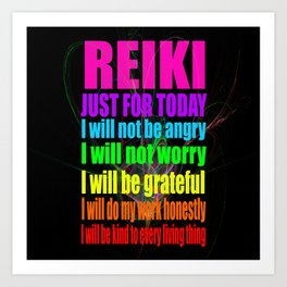 REiKi Just for... Art Print