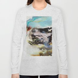Day 62: Dividing my efforts between art and everything else feels like... Long Sleeve T-shirt