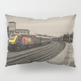 Harry Patch at Bristol Temple Meads Pillow Sham