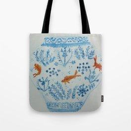 Goldfish Ginger Jar  Tote Bag