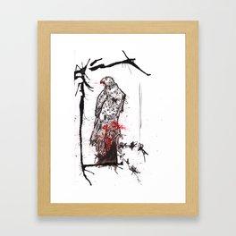 Nature is F*cking Metal 04 Framed Art Print