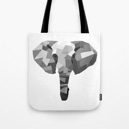Geometric Series: Elephant Tote Bag