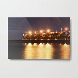 Marquette ore dock Metal Print