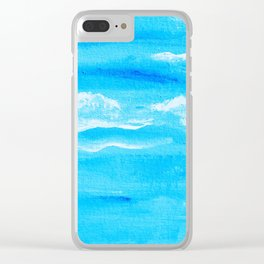 Blue Skies in Florida #6 Clear iPhone Case