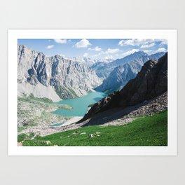 The Holy Lake Art Print