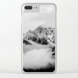 Canadian Rockies - mountain photo, rocky mountains, fine art print, home decor Clear iPhone Case