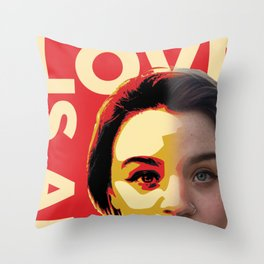 Love is Art Throw Pillow