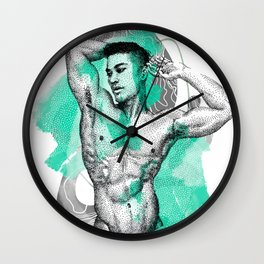 Edison Remix NOODDOOD Wall Clock