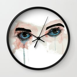 Painted eyes Wall Clock