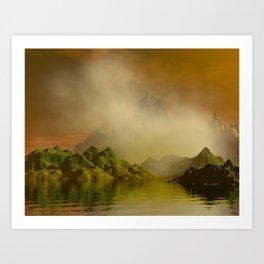 Guardians of the Mist Art Print