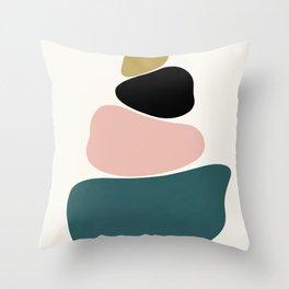 gemstones 1 Throw Pillow