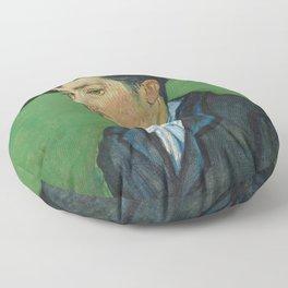 Portrait of Armand Roulin by Vincent van Gogh Floor Pillow