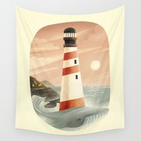 the whale Wall Tapestries featuring Whale by Seaside Spirit