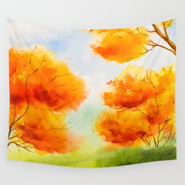 Autumn scenery #14 Wall Tapestry