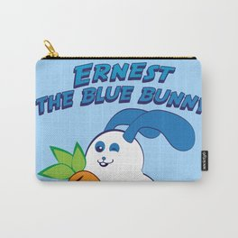 Ernest the blue bunny Carry-All Pouch
