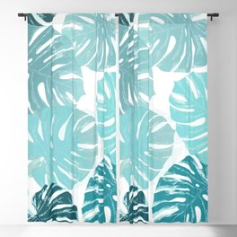 Blue romance Blackout Curtain