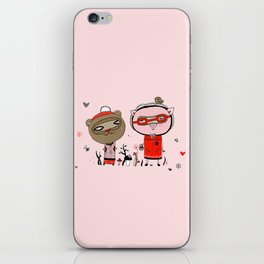Two Friends iPhone Skin