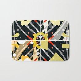 Cheezy abstract Bath Mat