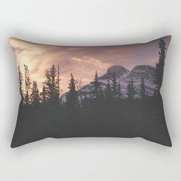 Sunrise over Banff Rectangular Pillow