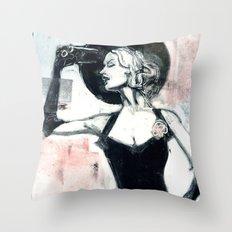 1950s Throw Pillow