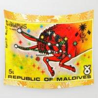 taurus Wall Tapestries featuring Taurus by lanjee
