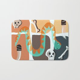 Snake Bed Bath Mat