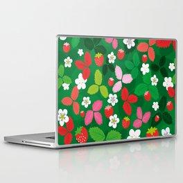Wild strawberries Laptop & iPad Skin