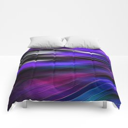 Re-Created  Feather ix by Robert S. Lee Comforters