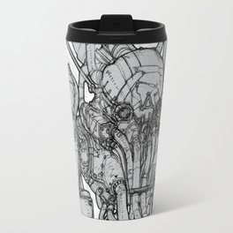 HUXLEY Drawing Travel Mug