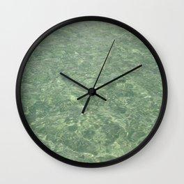 Clean Ocean Water Wall Clock