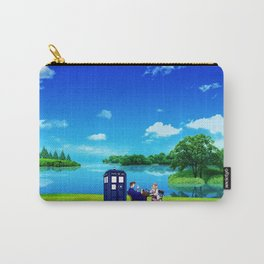 Tardis And The Doctor Breakfast Carry-All Pouch