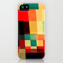 Patchwork VIII iPhone Case