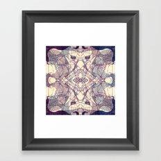 Kaleidoscopic Trip Framed Art Print