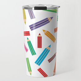 pencils Travel Mug