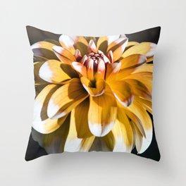 Dahlia / In The Garden / 25 Throw Pillow