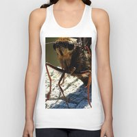 moth Tank Tops featuring moth by Laura Grove