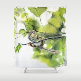 Balancing Act by Teresa Thompson Shower Curtain