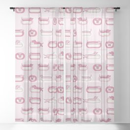 Weenies Sheer Curtain