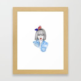 Coquette! Framed Art Print