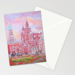 The Cathedral of Kazan Mother of God on Red Square Stationery Cards