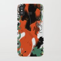 racing iPhone & iPod Cases featuring Horse Racing by Tami Cudahy