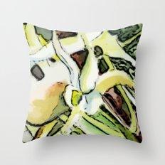 Darwins Orchid Throw Pillow